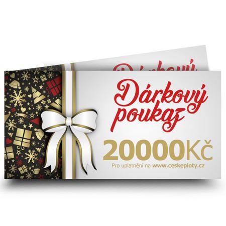 Dárkový poukaz vánoční 20000 Kč