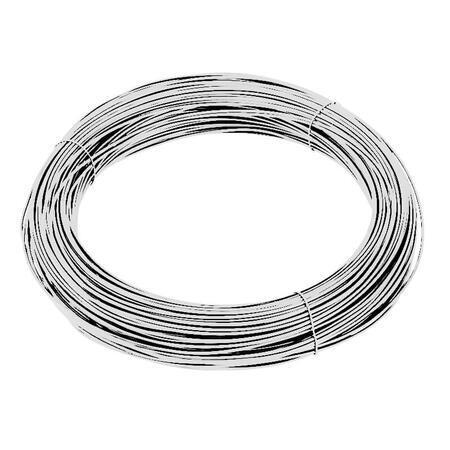 Vázací drát Zn+PVC 1,4/2,0mm, bílý, BM