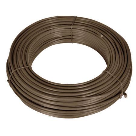 Napínací drát Zn+PVC 2,25/3,4, hnědý, 52m