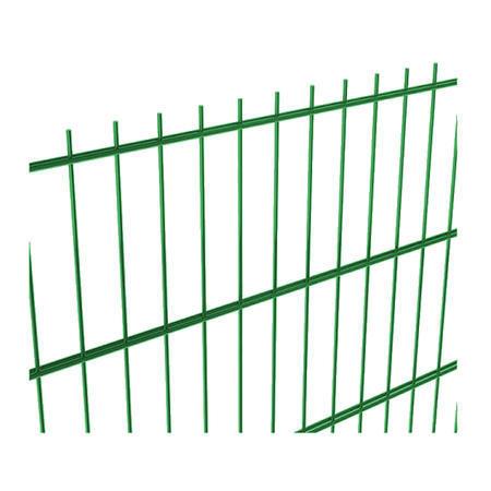 NYLOFOR 2D bez prolisu Super Strong Zn+PVC zelená 2430x2500 mm, výška 2430 mm - 1