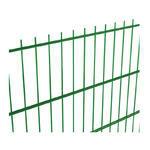 NYLOFOR 2D bez prolisu Super Zn+PVC zelená 2430x2500 mm, výška 2430 mm - 1/3