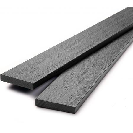 Dřevoplus profi šedá rovná 80x15 mm - 1