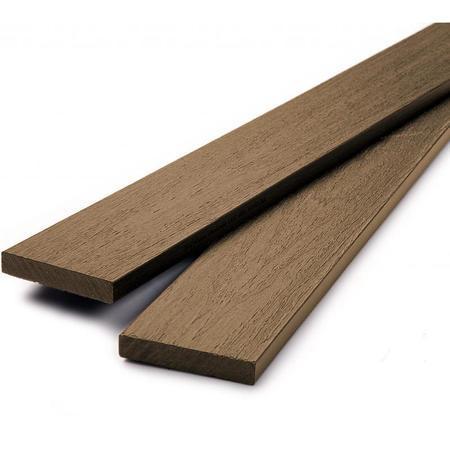 Dřevoplus profi teak rovná 80x15 mm na míru, Délka na míru v mm