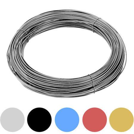 Vázací drát Zn+PVC 1,4/2,0mm, barevný, BM - 1