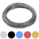 Vázací drát Zn+PVC 1,4/2,0mm, barevný, BM - 1/6