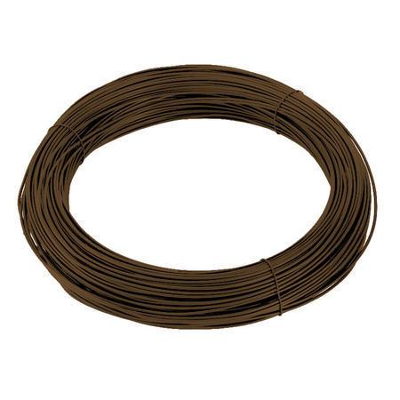 Vázací drát Zn+PVC 1,4/2,0mm, hnědý, 50m