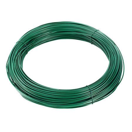 Vázací drát Zn+PVC 1,4/1,8mm, zelený, 50m
