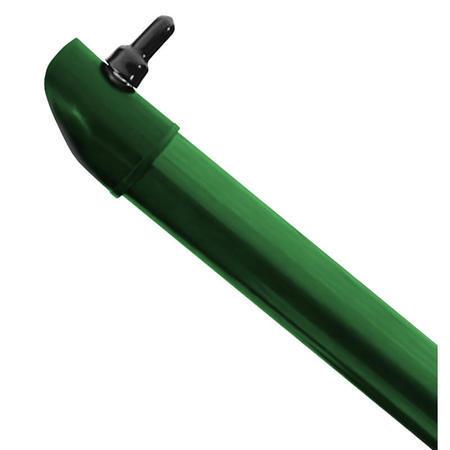 Vzpěra IDEAL ZELENÁ PVC 48/1,5 vč. úchytu 3000mm, 3000 mm - 1