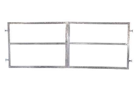 Rám brány pro vlastní výplň, výška 1600 mm s příčníkem, Výška 1600 mm s příčníkem - 1