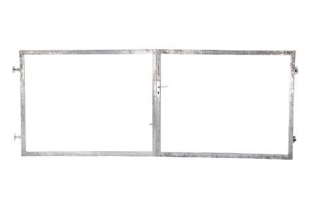 Rám brány pro vlastní výplň, výška 1600 mm bez příčníku, Výška 1600 mm bez příčníku - 1