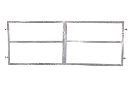 Rám brány pro vlastní výplň, výška 1800 mm s příčníkem, Výška 1800 mm s příčníkem - 1