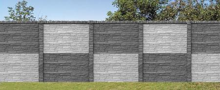 Oboustranný panel 144x30x4,5 antracit