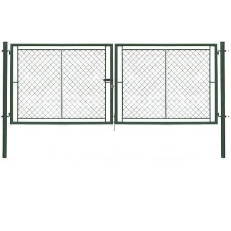Brána Ideal II 3021 mm, čtyřhranné pletivo, FAB, zelená - 1