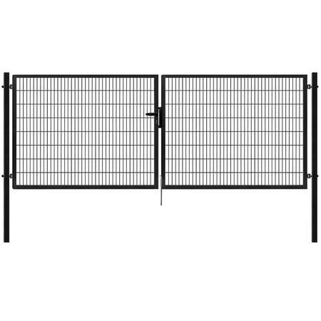 Brána Pilofor Super 4090 mm, svařovaný panel, FAB, antracit - 1