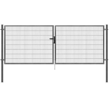 Brána Pilofor Super 4090 mm, svařovaný panel, FAB, zinek, výška 1780 mm, výška 1780 mm - 1