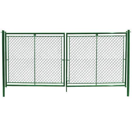 Brána Savan 3600 mm, čtyřhranné pletivo, oko, zelená, výška 2000 mm, výška 2000 mm - 1