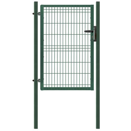 Branka Pilofor 1094 mm, svařovaný panel, FAB, zelená, výška 1745 mm, výška 1745 mm - 1