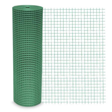 Chovatelská svařovaná síť HOBBY Zn+PVC 500, 12,7x12,7mm, drát 0,9 mm - 1