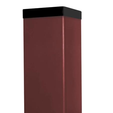 Sloupek 60/60/1,5 Zn+ PVC, délka 400cm - 1