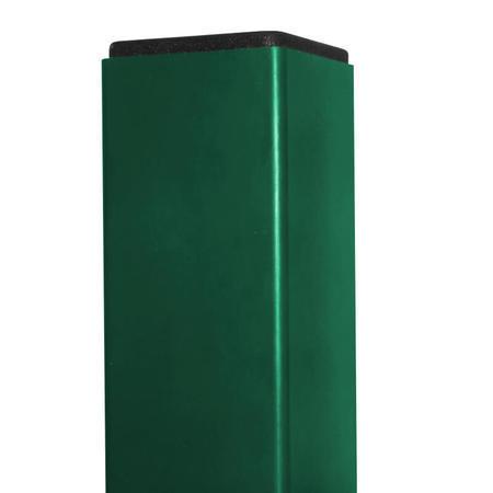 Sloupek 60/40/1,5 mm Zn+RAL zelená, délka 200cm
