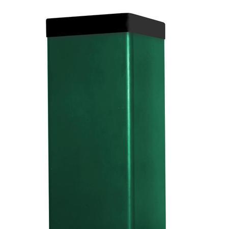 Sloupek DAMIPLAST® poplastovaný  60/60/1,5 Zn + PVC ZELENÁ - 1