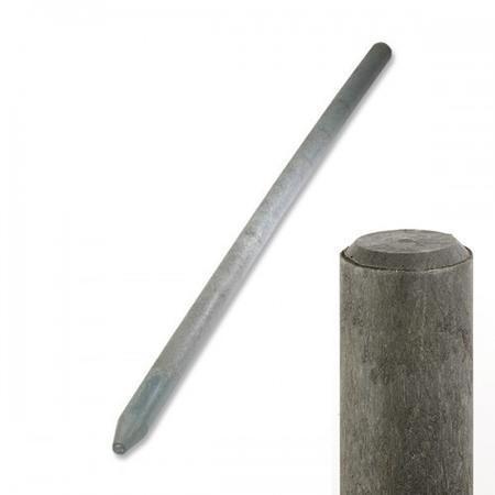 Plastový kůl recyklát průměr 65 mm, 1,6m