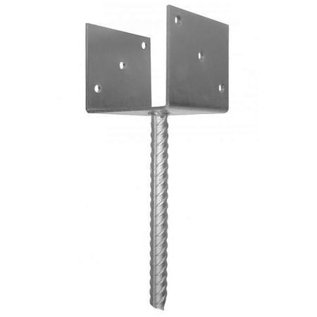Patka pro ukotvení do betonu pro sl.100x100 Zn