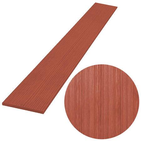 PILWOOD červenohnědá rovná 90x15x1200 mm, Délka 1200 mm