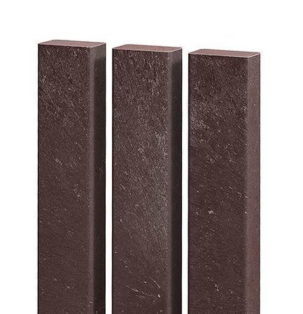 Recyklát plotovka rovná 50x30x1500 mm, Výška 1500 mm