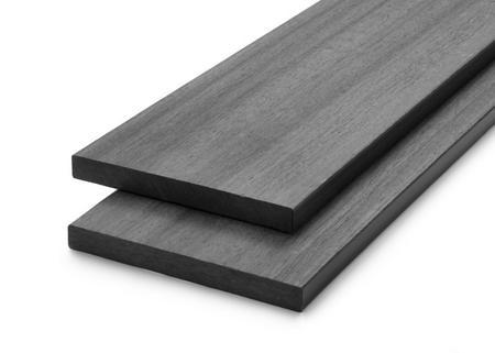 Dřevoplus profi šedá rovná 138x15 mm na míru, Šedá - 1