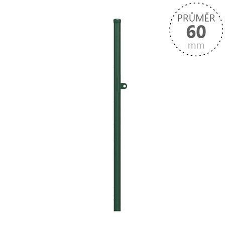 Dorazový sloupek OKO k brance, výška 1250 mm, Výška 1250 mm - 1