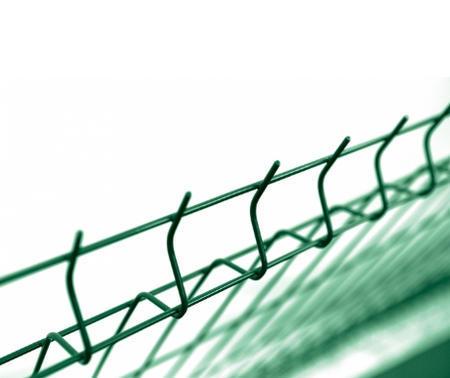 Pilofor 3D s prolisem ECO Zn+PVC zelená 1230x2500 mm, výška 1230 mm