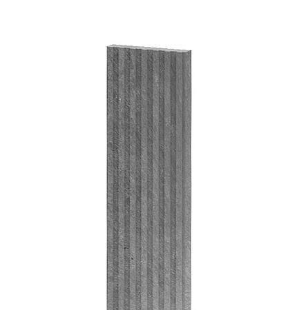 Recyklát deska teras.rýhovaná 1500x140x30 mm, šedá