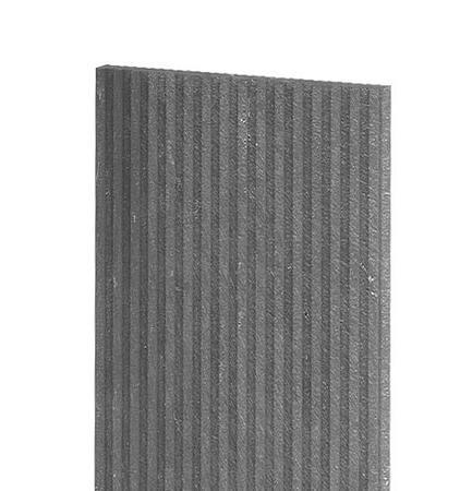 Recyklát deska teras.rýhovaná 1500x330x30 mm,šedá