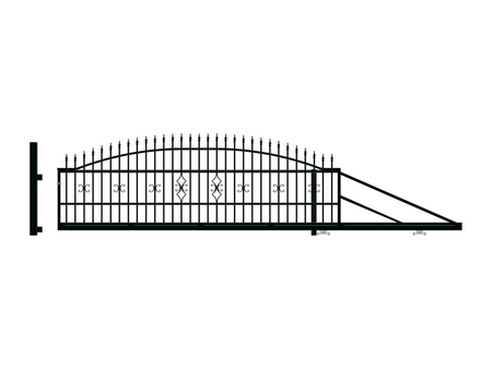 Brána posuvná pravá TOLA