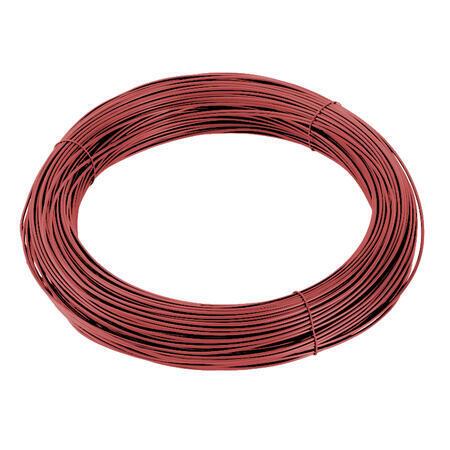 Vázací drát Zn+PVC 1,4/2,0mm, červený, BM