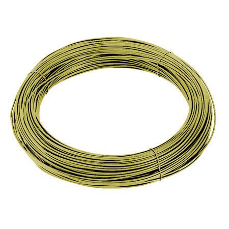 Vázací drát Zn+PVC 1,4/2,0mm, žlutý, BM