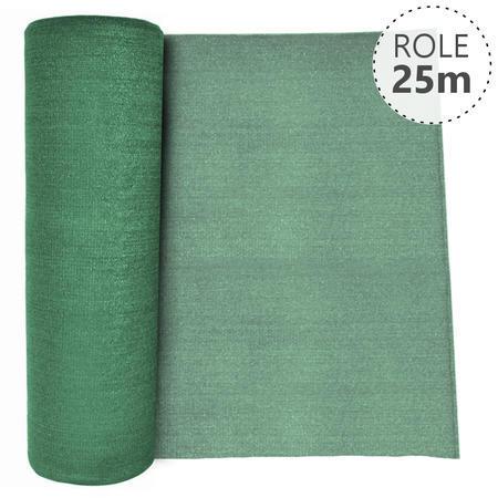 Stínící tkanina 90% - 180 g/m2, zelená, role 25m - 1