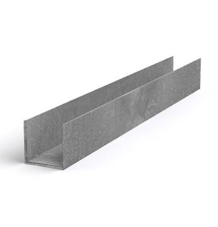 Recyklát žlab malý 100x100 mm, délka 120cm