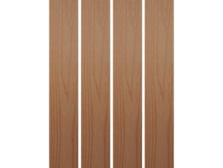 Dřevoplus hladká světlá 70x15 mm na míru - 2