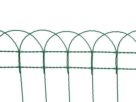 Dekoran 400 mm /90x150 mm/10 m, Zn+PVC zelené, výška 40cm - 2