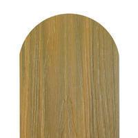 Dřevoplus profi světlý dub půlkulatá 138x15 mm na míru, Světlý dub - 2