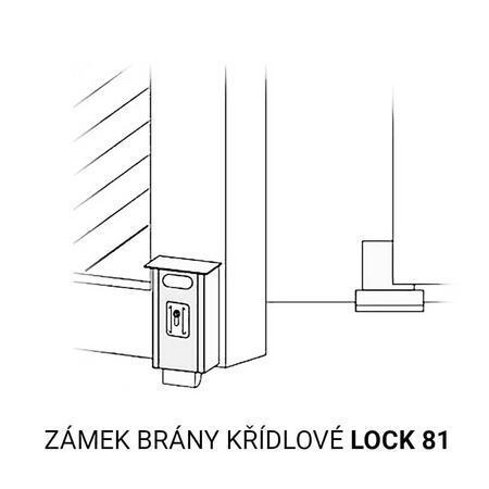 CAM LOCK 81 - zámek elektrický jednostranný - 2