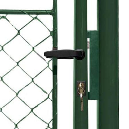 Brána Ideal II 4037 mm, čtyřhranné pletivo, FAB, zelená - 2
