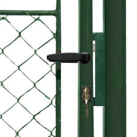 Brána Ideal II 3021 mm, čtyřhranné pletivo, FAB, zelená - 2