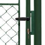 Brána Ideal II 4037 mm, čtyřhranné pletivo, FAB, zelená - 2/3