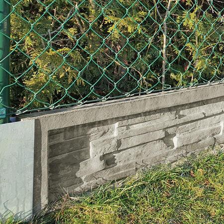 Podhrabová deska štípaný kámen 2460x200x50 mm - 2