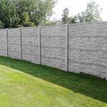 Betonový panel štípaný kámen 1-str. přírodní  2000x600x40 mm oblouk - 2/4