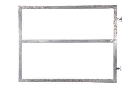 Rám brány pro vlastní výplň, výška 1800 mm s příčníkem, Výška 1800 mm s příčníkem - 2