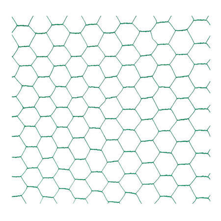 Chovatelské šestihranné pletivo HOBBY Zn+PVC 500, 13x13mm, drát 0,8 mm - 2